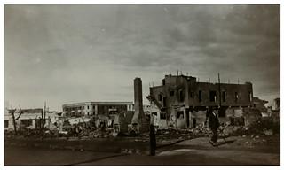 1931 Hawkes Bay Earthquake - Unidentified Damaged Street