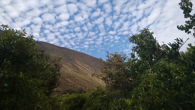 Clouds over the Hills of Diaguitas, Valle de Elqui, Chile