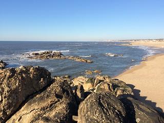 Image of Praia Senhor da Pedra. praia portugal nova de do vila porto da gaia pedra miramar norte aveiro senhor granja espinho capela madalena canidelo arcozelo gulpilhares