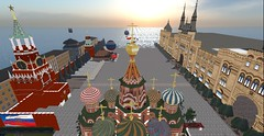 Virtual Moscow in Second Life 2016