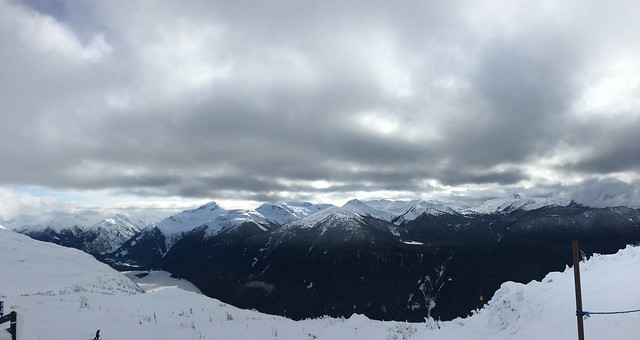 Looking towards Garibaldi Provincial Park
