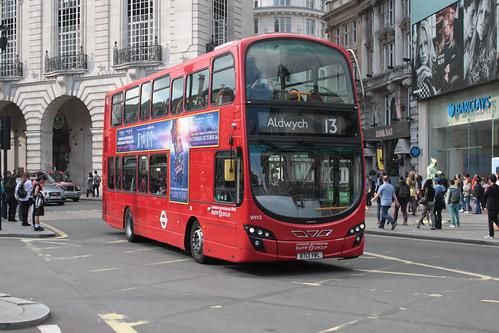 London Sovereign VH13 BT13YWL