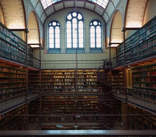 Rijksmuseum, library, Amsterdam