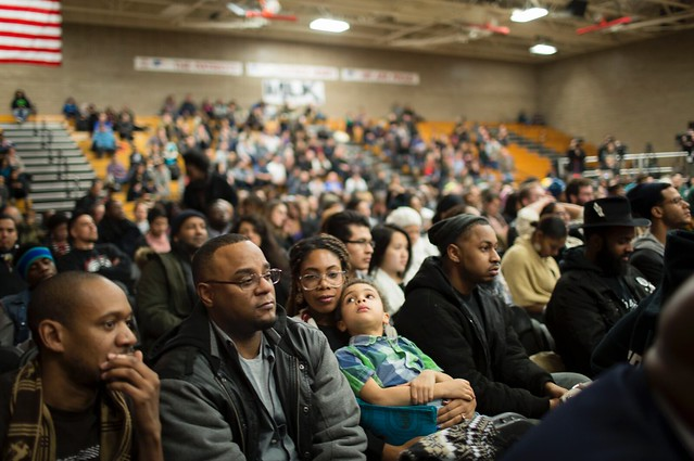 Crowd at Black America forum