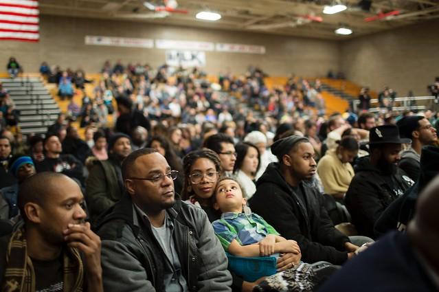 Crowd at Black America forum