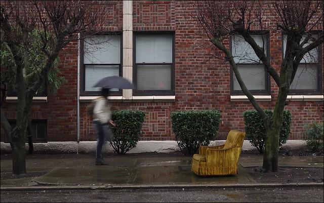 Chair in the Rain
