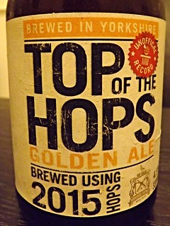 Great Yorkshire, Top Of The Hops 2015, England