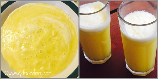 Fresh Pineapple Juice Recipe for Babies, Toddlers and Kids - step 5
