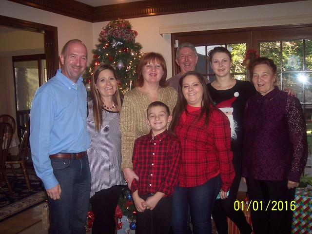 With family in Kentucky