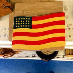 24-star 8-stripe USA flag
