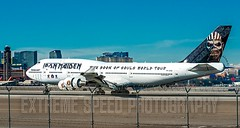 Iron Maiden 'Ed Force One' lands in Las Vegas