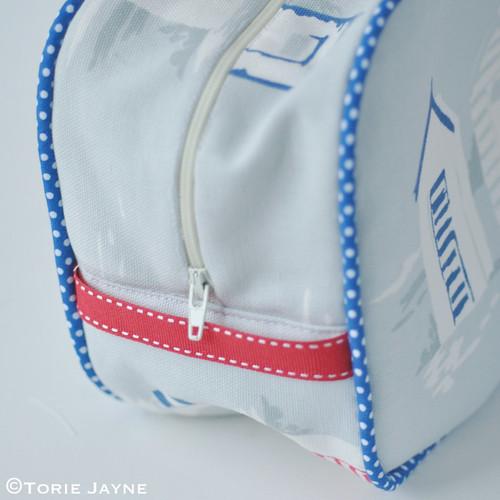 Boys Piped Wash Bag Tutorial 12