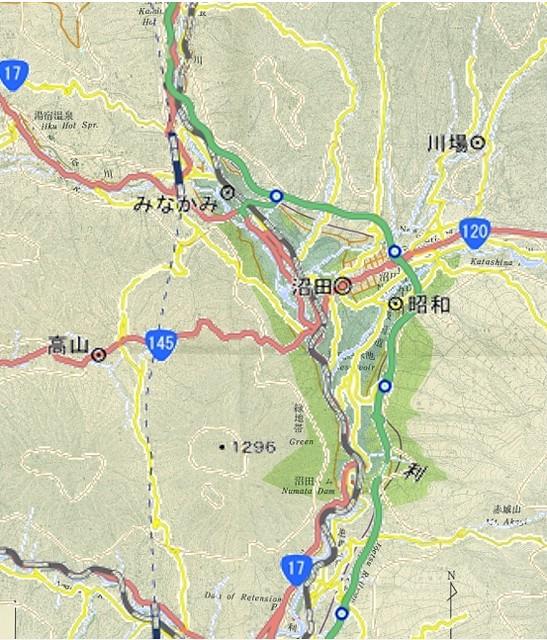 沼田ダムと関越自動車道 (2)