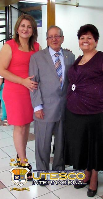 Homenaje al Pastor Abraham Miranda Aguilera, El Salvador 17-1-16