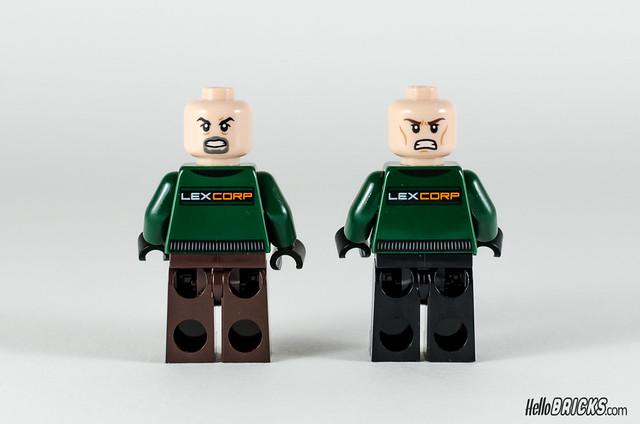 REVIEW LEGO 76045 DC Comics Batman Kryptonite Interception 07