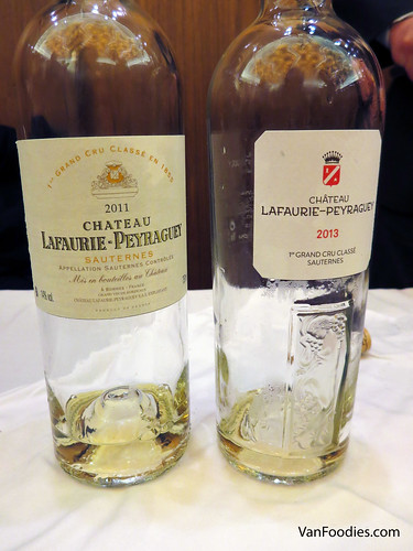 Chateau Lafaurie-Peyraguey Blanc 2011 and 2013