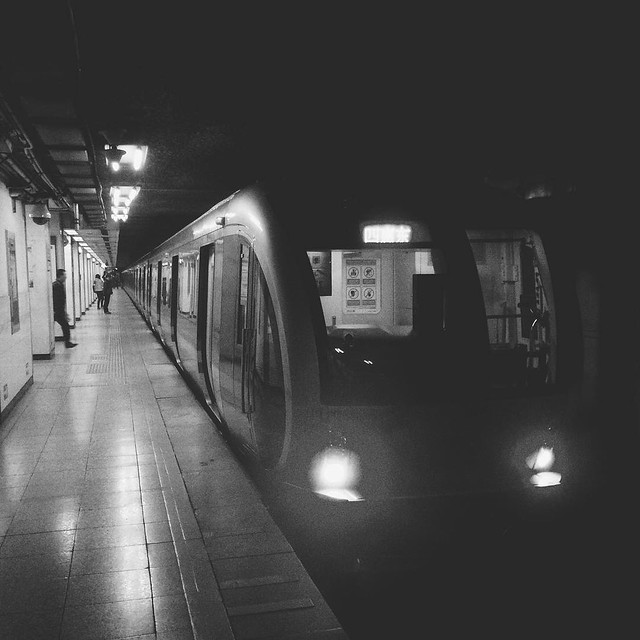 Beijing Subway Line 1 / GONGZHUFEN #beijing #igersbeijing #instahub #subway