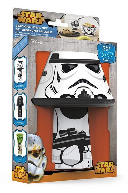 Set desayuno Star Wars stormtrooper