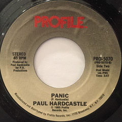 PAUL HARDCASTLE:KING TUT(LABEL SIDE-B)