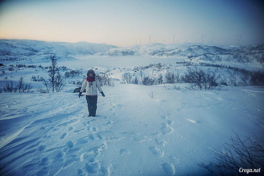 2016.02.23▐ 看我歐行腿 ▐ 阿呀~一不小心就從瑞典到了挪威, Narvik 小鎮遇見地理課本中的峽灣 15.jpg