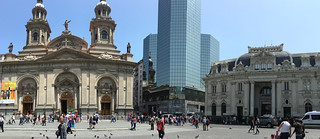 Santiago - Plaza de Armas pano