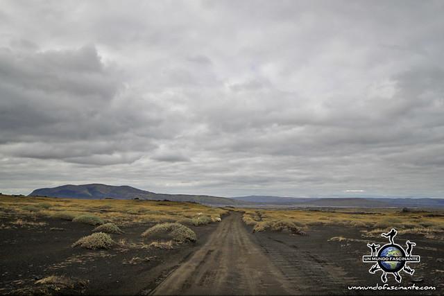 Carretera de grava compactada (Secundaria) - ISLANDIA
