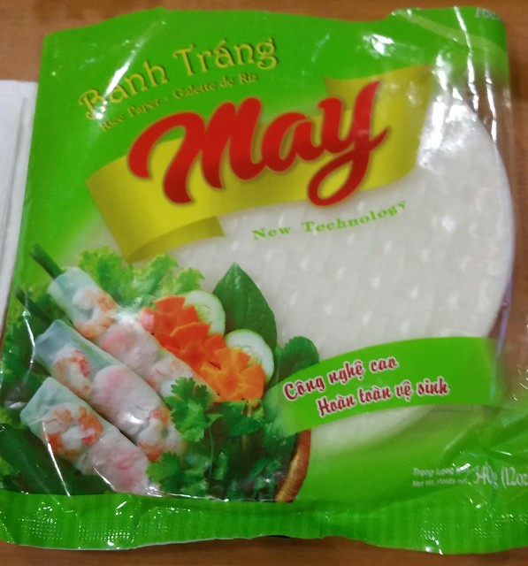 2016-Mar-3 Song Huong - Beef 7 Ways - rice paper