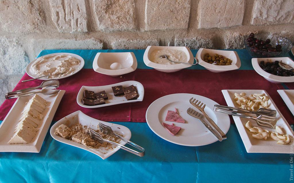 Breakfast, Grand Cave Suites, Cappadocia