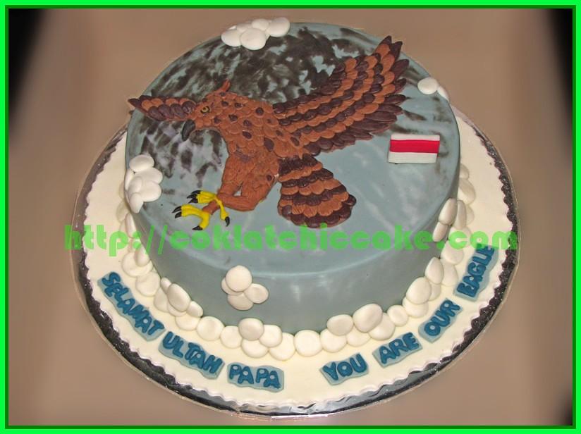 Cake Elang Jawa