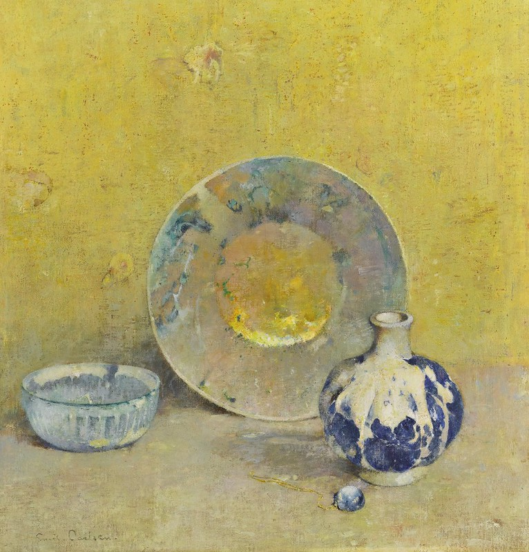 Emil Carlsen - The Moon stone