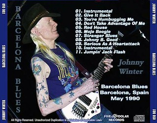 Johnny Winter Barcelona Boogie