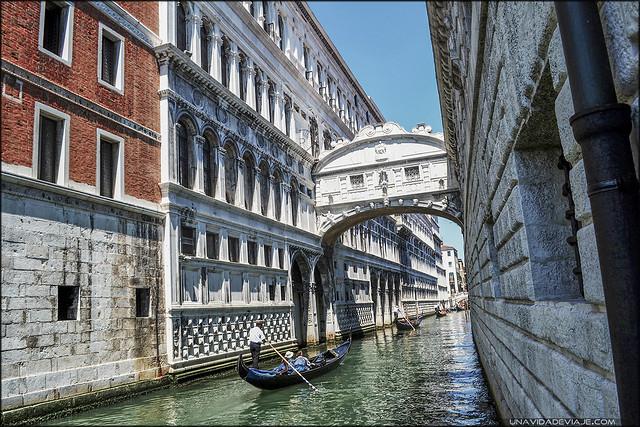 Venecia puente de los Suspiros