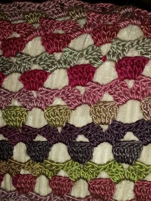 Wool wrap for Barbara. :)