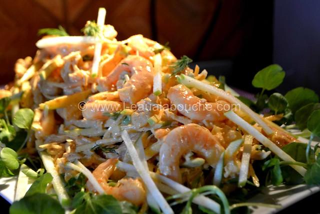 Salade de Céleri & Pommes aux Crevettes à l'Indienne © Ana Luthi Tous droits réservés 011