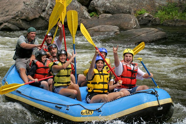 Whitewater Rafting in Goa at Mahdei River (July-September)