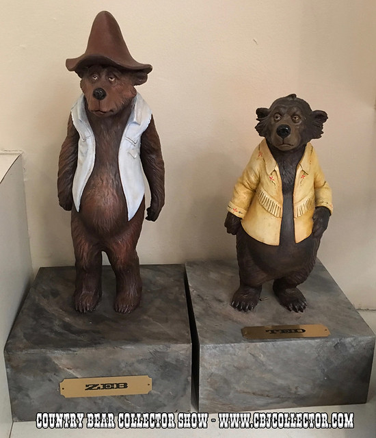 Disney Country Bears Film Production Maquettes