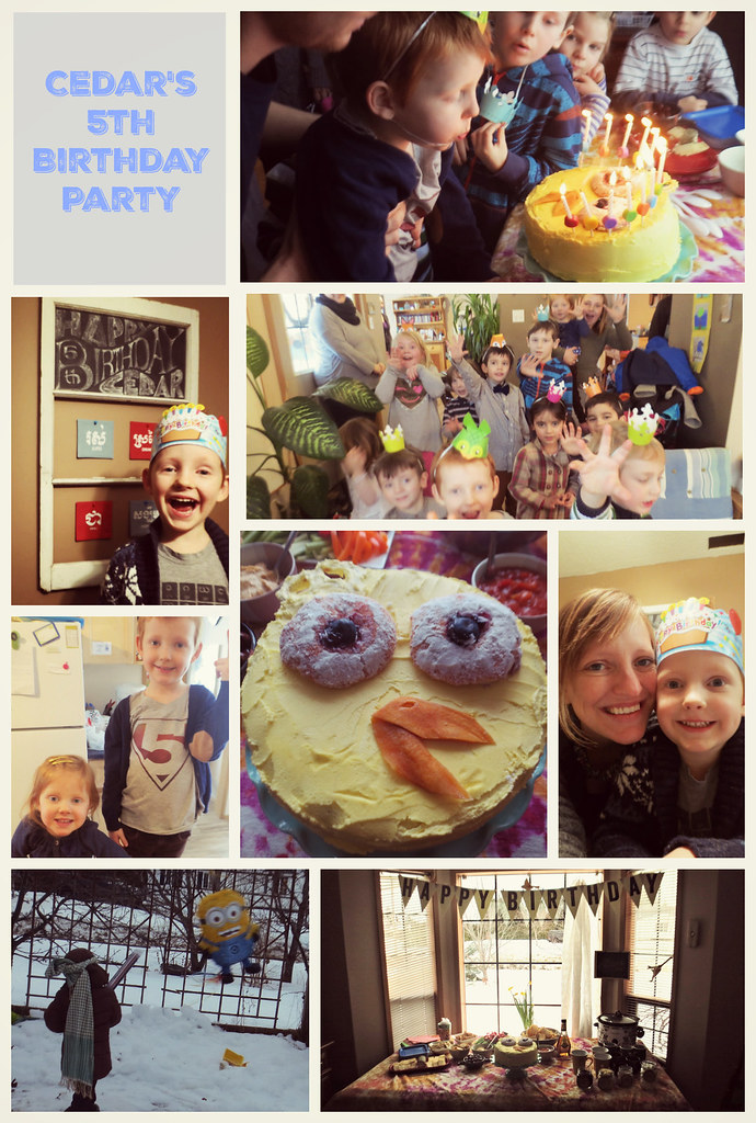 cedar's 5th birthday