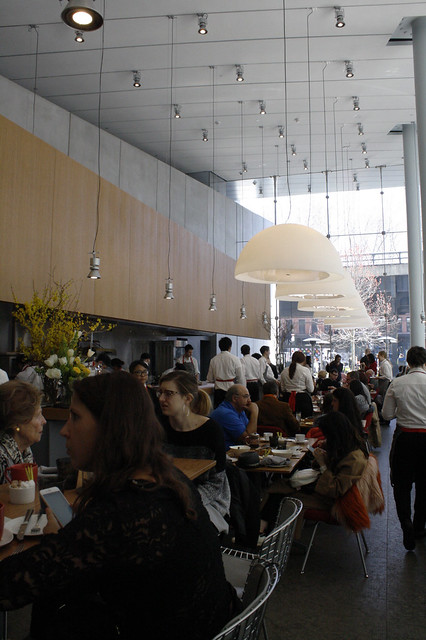 Brunch at Untitled at The Whitney