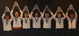 Winning Davis Cup team