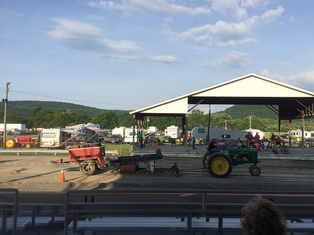 Dumptrucks and Demolition Derby, still a Long Wade to Go. July 16 - 18, 2015.