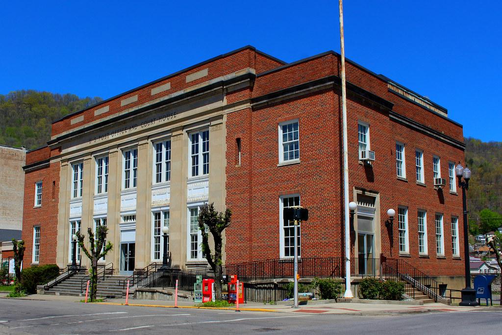 US Post Office -- Williamson, West Virginia
