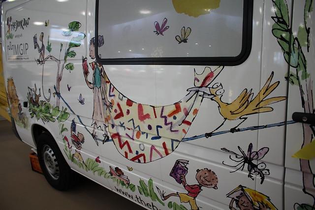 The Book Bus - London Book Fair 2016