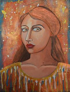 Week 14 Portrait Metallic Bronze 1
