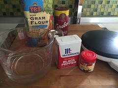 Chickpea Flour Tortillas - Ingredients