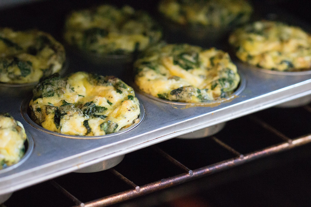 Goat Cheese and Spinach Frittata