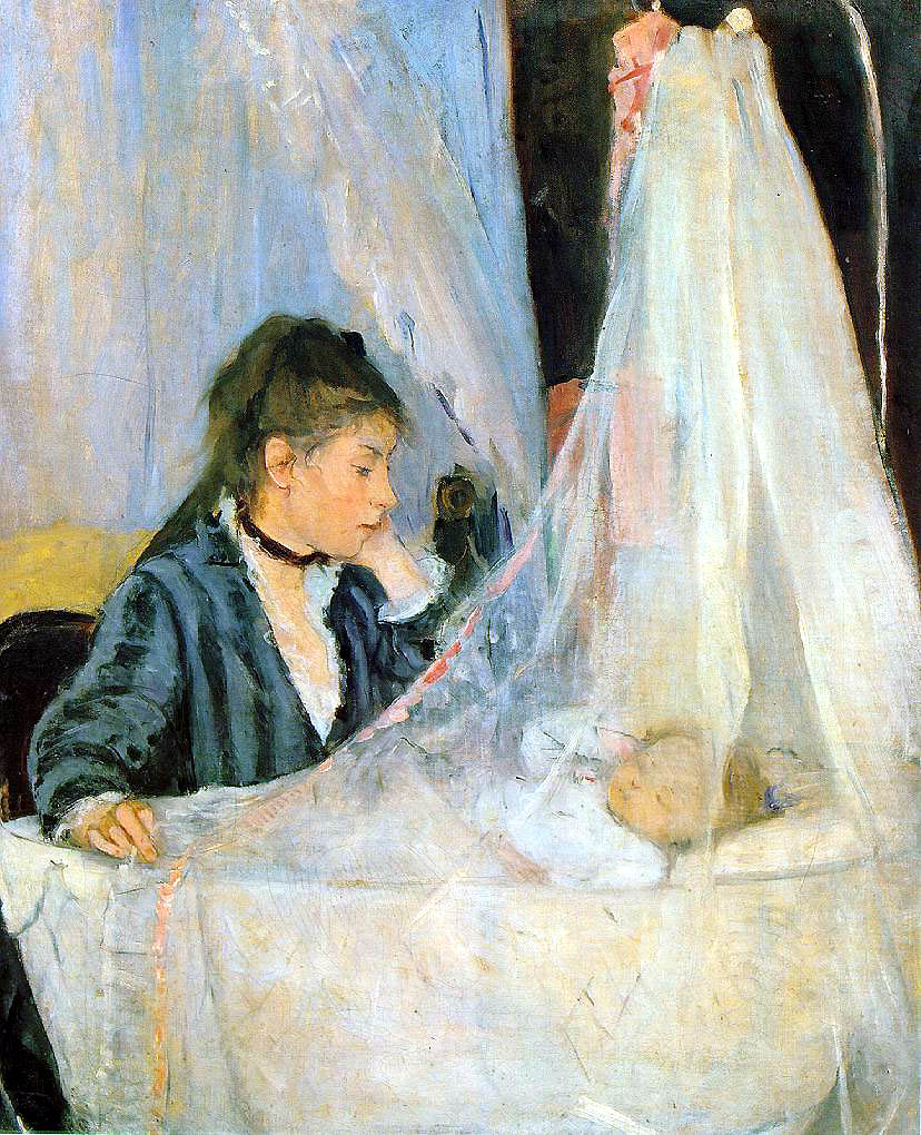 The Cradle by Berthe Morisot, 1872