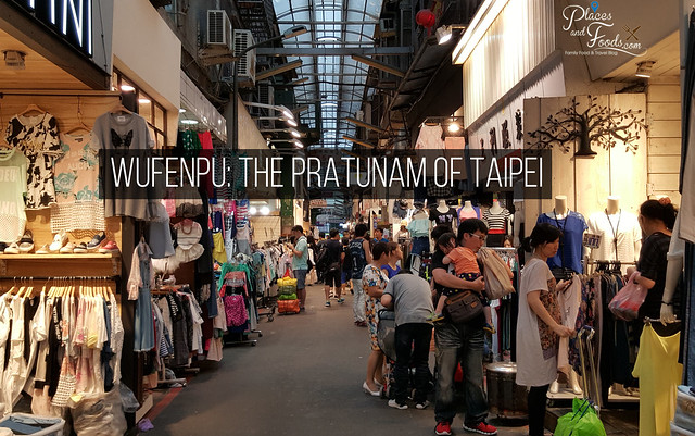 wufenpu the pratunam of taipei poster