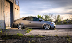 Bagged Forte Koup with AG wheels