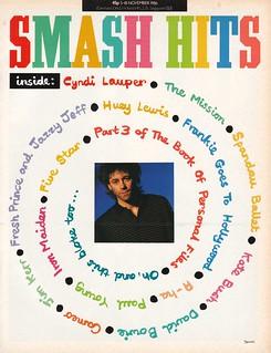 Smash Hits, November 05, 1986