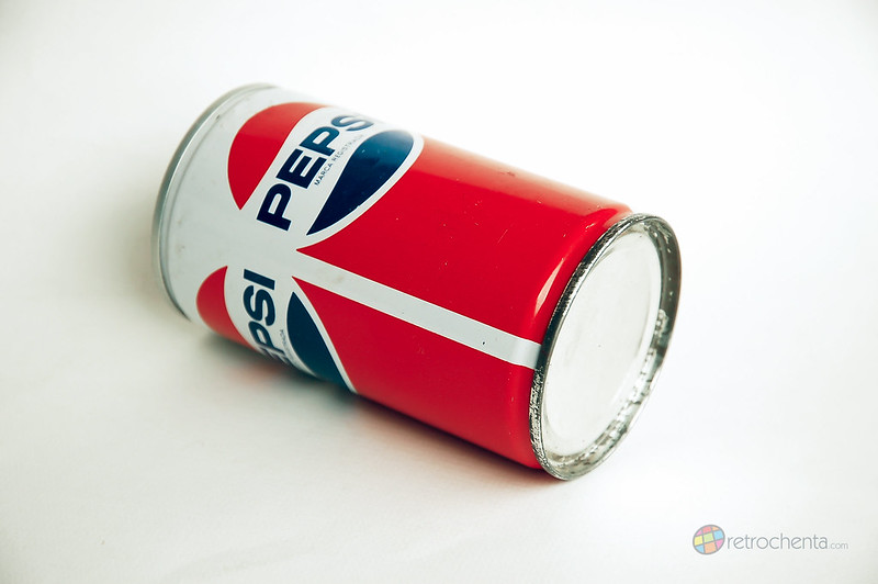 Pepsi - lata años 80 - tumbada